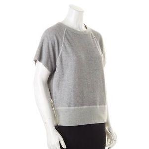 rag and bone short sleeve sweatshirt
